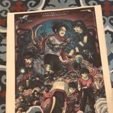 Colecionismo de cartazes: POSTER AKIRA IMPRESO SOBRE PAPEL RECICLADO A MANO EN JAPÓN - KATSUHIRO OTOMO - FORMATO DIN A3. Lote 290298093