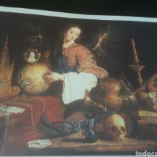 Coleccionismo de carteles: LÁMINA ALEGORÍA DE LA VANIDAD -ANTONIO DE PEREDA- (REPRODUCCIÓN). Lote 291415888