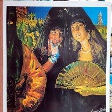 Coleccionismo de carteles: REPRODUCCION CARTEL MALAGA SUNTUOSAS PROCESIONES DE SEMANA SANTA 1926 - MALAGASANTA-003. Lote 295446708
