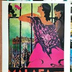 Coleccionismo de carteles: REPRODUCCION CARTEL MALAGA SUNTUOSAS PROCESIONES DE SEMANA SANTA 1929 - MALAGASANTA-005. Lote 295446988