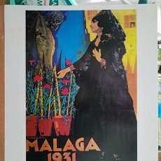 Coleccionismo de carteles: REPRODUCCION CARTEL MALAGA SUNTUOSAS PROCESIONES DE SEMANA SANTA 1931 - MALAGASANTA-007. Lote 295447268