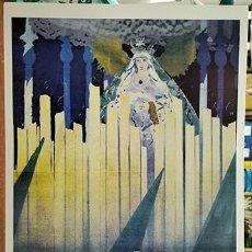 Coleccionismo de carteles: REPRODUCCION CARTEL MALAGA SUNTUOSAS PROCESIONES DE SEMANA SANTA 1935 - MALAGASANTA-008. Lote 295447403