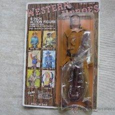 Reproducciones Figuras de Acción: DAVID CROCKETT WESTERN HEROES FABRICADO POR TIM MEE TOYS MADE IN HONG KONG COMPATIBLE MEGO. Lote 34770111