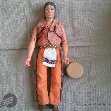 Reproducciones Figuras de Acción: TONTO DE LONE RANGER LLANERO SOLITARIO DE MARX TOYS GABRIEL COMPATIBLE BIG JIM. Lote 35545944