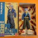 Reproducciones Figuras de Acción: FIGURA DRAGON BALL Z SUPER COLLECTION Nº 7 TRUNKS . MADE IN JAPAN. Lote 37977103