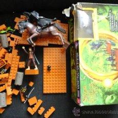 Reproducciones Figuras de Acción: EL SEÑOR DE LOS ANILLOS DE BANDAI PLAYMATES INCLUYE 2 FIGURAS CONSTRUCTION SYSTEM COMPACTIBLE LEGO . Lote 38091677