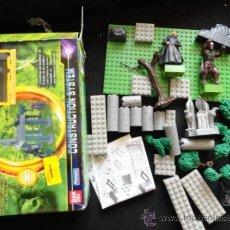 Reproducciones Figuras de Acción: EL SEÑOR DE LOS ANILLOS DE BANDAI PLAYMATES INCLUYE 2 FIGURAS CONSTRUCTION SYSTEM COMPACTIBLE LEGO . Lote 38091705