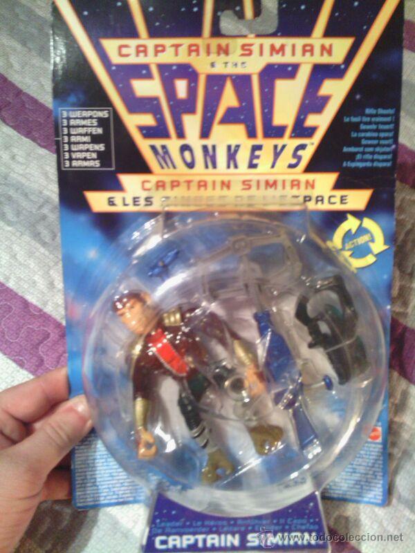SPACE MONKEYS CAPITAN SIMAN (Juguetes - Reproducciones Figuras de Acción)