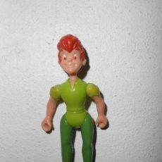 Reproducciones Figuras de Acción: PETER PAN***FIGURA DE GOMA DISNEY. Lote 44180334