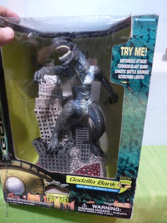 Reproducciones Figuras de Acción: Godzilla Bank - Insert coin for automatic attack - En su caja original - Nuevo a estrenar - - Foto 2 - 46001087