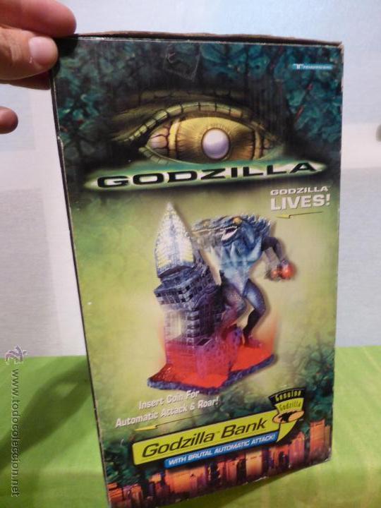 Reproducciones Figuras de Acción: Godzilla Bank - Insert coin for automatic attack - En su caja original - Nuevo a estrenar - - Foto 5 - 46001087