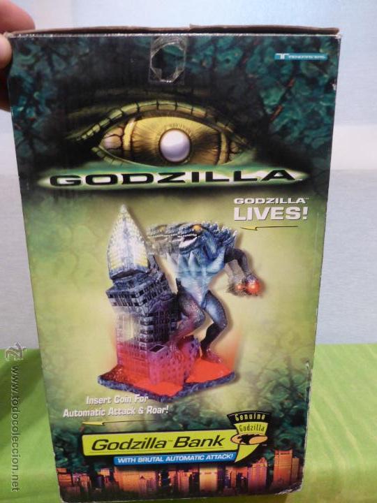 Reproducciones Figuras de Acción: Godzilla Bank - Insert coin for automatic attack - En su caja original - Nuevo a estrenar - - Foto 7 - 46001087