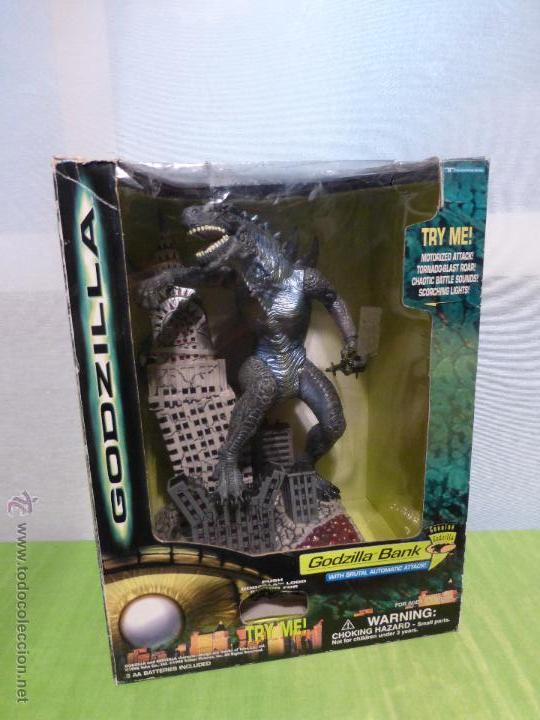 Reproducciones Figuras de Acción: Godzilla Bank - Insert coin for automatic attack - En su caja original - Nuevo a estrenar - - Foto 9 - 46001087