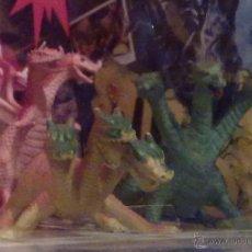 Reproducciones Figuras de Acción: INCREIBLE RELIQUIA DRAGON 3 CABEZAS KELTIBERIAN VINTAGE DRAGONES MAZMORRAS. Lote 50600935