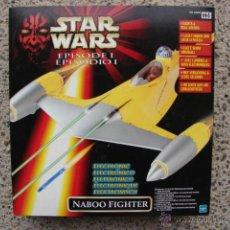 Reproducciones Figuras de Acción: STAR WARS NABOO FIGHTER EPISODIO I - HASBRO. Lote 145759426