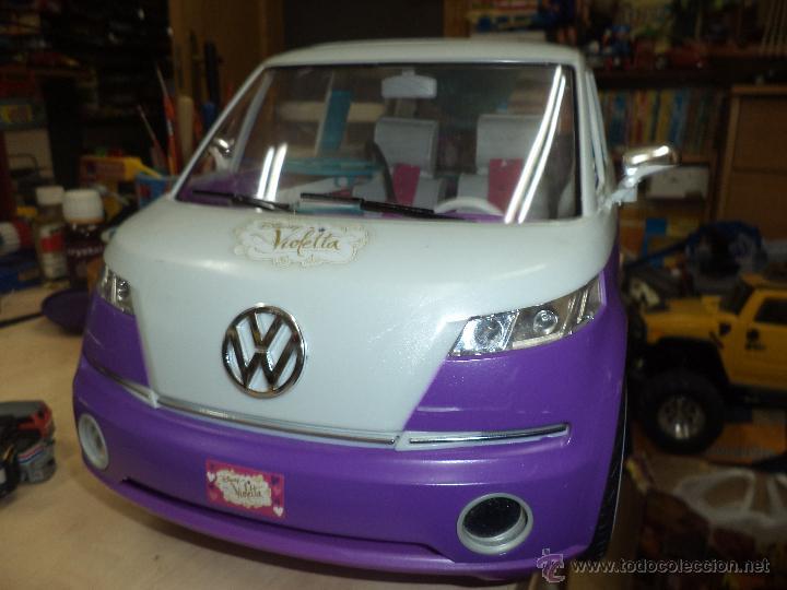Reproducciones Figuras de Acción: Furgoneta autocaravana Volkswagen de Violetta.Disney. - Foto 7 - 53851544