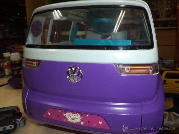 Reproducciones Figuras de Acción: Furgoneta autocaravana Volkswagen de Violetta.Disney. - Foto 8 - 53851544