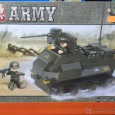 Reproducciones Figuras de Acción: SLUBAN ARMY. COMPATIBLE 100% CON LEGO (REF. M38-B0281: VEHÍCULO ARMADO). Lote 54109576