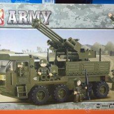 Reproducciones Figuras de Acción: SLUBAN ARMY. COMPATIBLE 100% CON LEGO (REF. M38-B0302: VEHÍCULO ANTIAÉREO). Lote 54109587