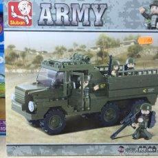 Reproducciones Figuras de Acción: SLUBAN ARMY. COMPATIBLE 100% CON LEGO (REF. M38-B0301: TRANSPORTE PARA TROPAS). Lote 54109592