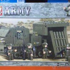 Reproducciones Figuras de Acción: SLUBAN ARMY. COMPATIBLE 100% CON LEGO (REF. M38-B0303: LANZACOHETES). Lote 54109599
