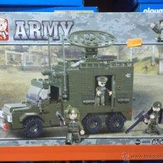 Reproducciones Figuras de Acción: SLUBAN ARMY. COMPATIBLE 100% CON LEGO (REF. M38-B0300: CAMIÓN RADAR). Lote 54109720