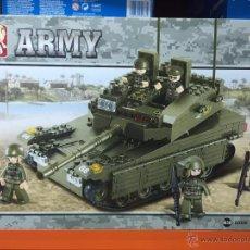 Reproducciones Figuras de Acción: SLUBAN ARMY. COMPATIBLE 100% CON LEGO (REF. M38-B0305: CARRO LEOPARD 2). Lote 54109724