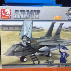 Reproducciones Figuras de Acción: SLUBAN ARMY. COMPATIBLE 100% CON LEGO (REF. M38-B7200: JET). Lote 54109795