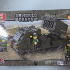 Reproducciones Figuras de Acción: SLUBAN ARMY. COMPATIBLE 100% CON LEGO (REF. M38-B0286: LANZACOHETES TORNADO). Lote 54109809