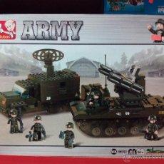 Reproducciones Figuras de Acción: SLUBAN ARMY. COMPATIBLE 100% CON LEGO (REF. M38-B6700: SISTEMA DE DEFENSA ANTIAÉREA). Lote 54188435