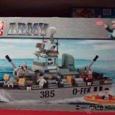 Reproducciones Figuras de Acción: SLUBAN ARMY. COMPATIBLE 100% CON LEGO (REF. M38-B0125: CRUCERO). Lote 54188437