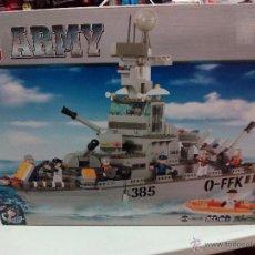 Reproducciones Figuras de Acción: SLUBAN ARMY. COMPATIBLE 100% CON LEGO (REF. M38-B0126: TORPEDERO). Lote 54188443