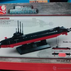 Reproducciones Figuras de Acción: SLUBAN AIRCRAFT CARRIER BATTLE GROUP. COMPATIBLE 100% CON LEGO (REF. M38-B0391: SUBMARINO NUCLEAR). Lote 144039302