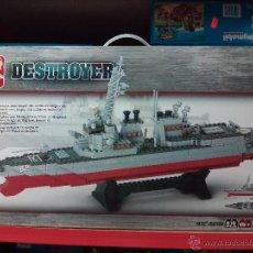 Reproducciones Figuras de Acción: SLUBAN AIRCRAFT CARRIER BATTLE GROUP. COMPATIBLE 100% CON LEGO (REF. M38-B0390: DESTRUCTOR). Lote 54188450