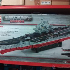 Reproducciones Figuras de Acción: SLUBAN AIRCRAFT CARRIER BATTLE GROUP. COMPATIBLE 100% CON LEGO (REF. M38-B0388: PORTAVIONES). Lote 54188455