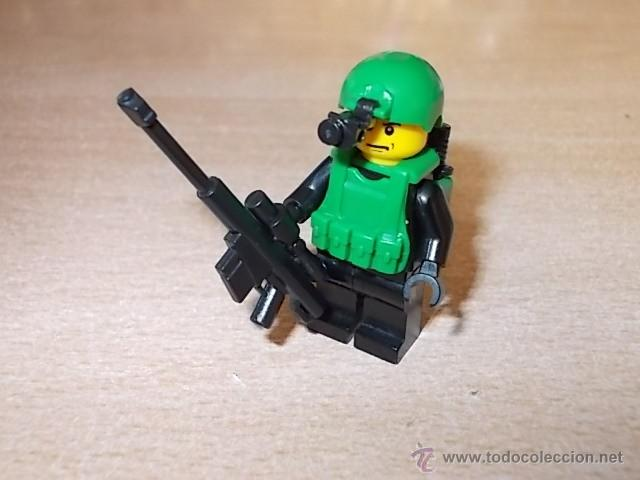 LOTE SOLDADOS / FUERZAS ESPECIALES / EJERCITO / MINIFIGURAS CUSTOM LEGO COMPATIBLES (Juguetes - Reproducciones Figuras de Acción)