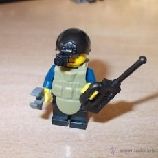 Reproducciones Figuras de Acción: LOTE SOLDADOS / ARTIFICIERO / EJERCITO / MINIFIGURAS CUSTOM LEGO COMPATIBLES. Lote 55076793