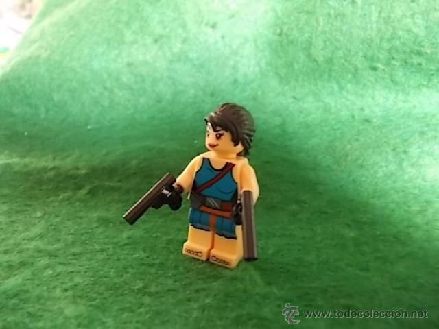 LARA CROFT - TOM RAIDER - MINIFIGURAS CUSTOM LEGO COMPATIBLES (Juguetes - Reproducciones Figuras de Acción)