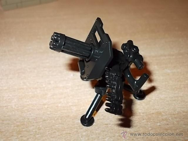 LOTE AMETRALLADORA / EJERCITO / MINIFIGURAS CUSTOM LEGO COMPATIBLES (Juguetes - Reproducciones Figuras de Acción)