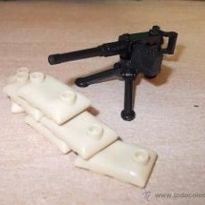 Reproducciones Figuras de Acción: LOTE AMETRALLADORA / EJERCITO / MINIFIGURAS CUSTOM LEGO COMPATIBLES. Lote 55077049