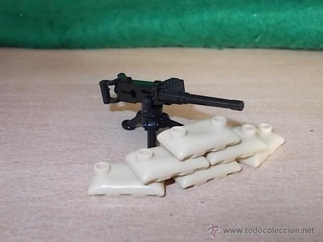 Reproducciones Figuras de Acción: LOTE AMETRALLADORA / EJERCITO / MINIFIGURAS CUSTOM LEGO COMPATIBLES - Foto 2 - 55077049