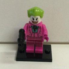Reproducciones Figuras de Acción: MINIFIGURES SUPERHEROES JOKER COMPATIBLE LEGO // D2. Lote 70460483