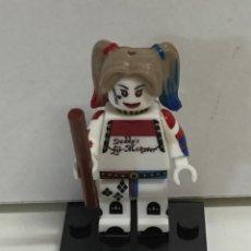 Reproducciones Figuras de Acción: MINIFIGURES SUPERHEROES HARLEY QUINN COMPATIBLE LEGO. Lote 63583296