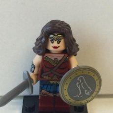 Reproducciones Figuras de Acción: MINIFIGURES SUPERHEROES WONDER WOMAN COMPATIBLE LEGO. Lote 63583444