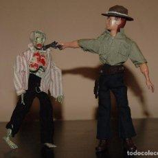 Reproducciones Figuras de Acción: MADELMAN MDE WALKING DEAD. RICK Y ZOMBI. Lote 64307855