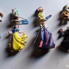Reproducciones Figuras de Acción: LOTE DE 8 FIGURITAS . BLANCANIEVES..PVC..MADE IN GERMANY.. Lote 67580369