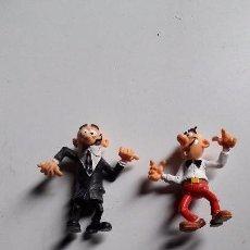 Reproducciones Figuras de Acción: 2 FIGURAS DE MORTADELO Y FILEMON. PVC.. Lote 67652769