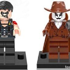 Reproducciones Figuras de Acción: LOTE MINIFIGURAS WATCHMEN: EL COMEDIANTE Y RORSCHACH. COMP. LEGO. NUEVAS EN SU BOLSA!. Lote 67764409