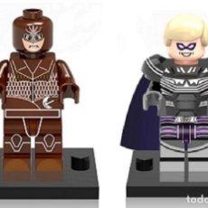 Reproducciones Figuras de Acción: LOTE MINIFIGURAS WATCHMEN: BUHO NOCTURNO Y OZYMANDIAS. COMP. LEGO. NUEVAS EN SU BOLSA!. Lote 67764773