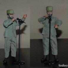 Reproducciones Figuras de Acción: MADELMAN MDE HISTORICO FIDEL CASTRO CON MICROFONO. Lote 67822757